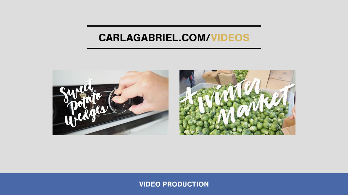 Marketing Design & Content Production by Carla Gabriel Garcia