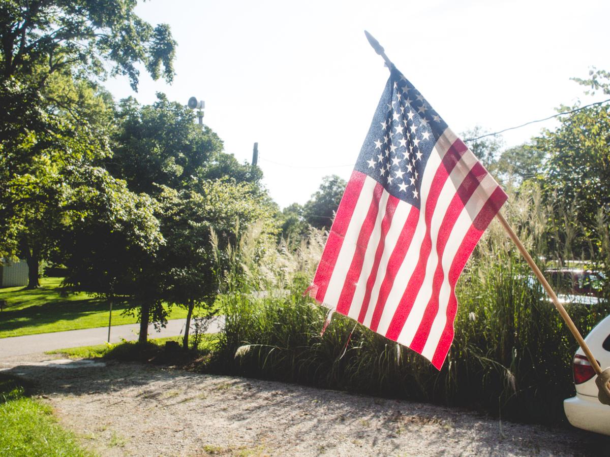 American Flag | Baldwin, KS | Carla Gabriel Garcia