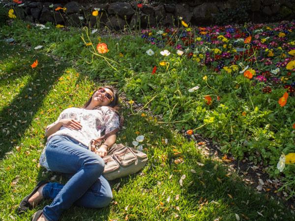 enjoying-the-flowers