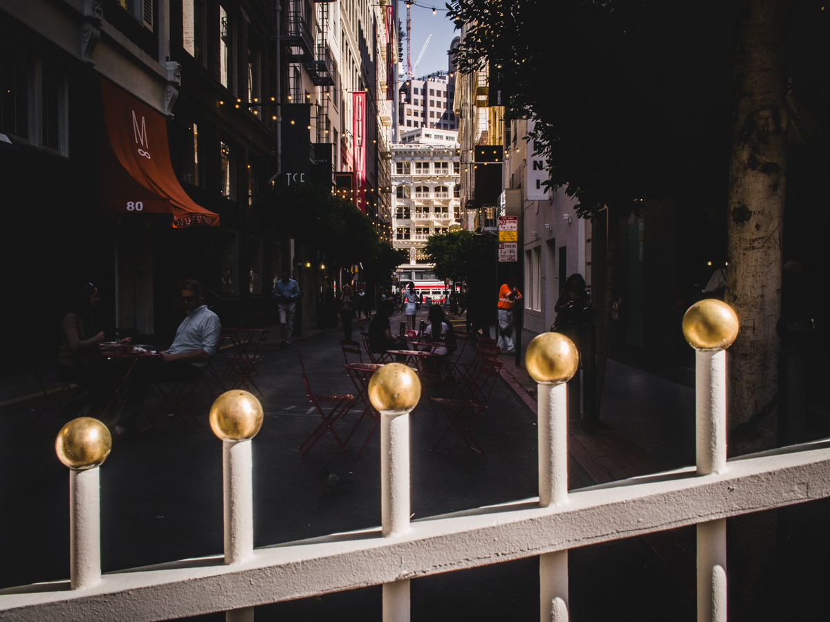 Maiden Lane Gate | Photo by Carla Gabriel Garcia