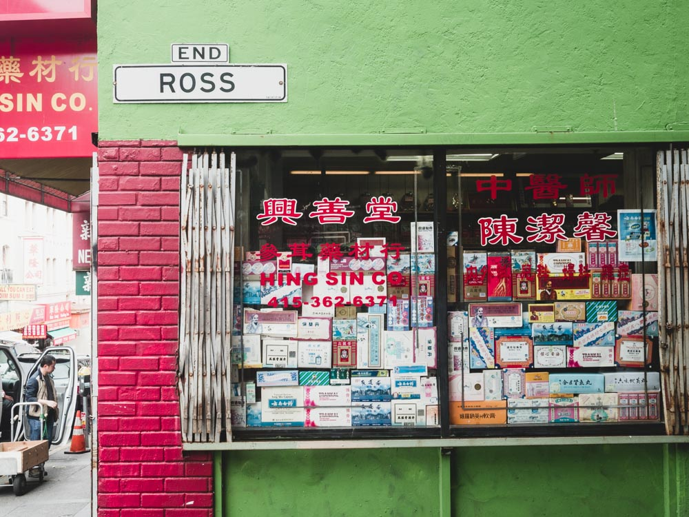 Ross Street Shop Window, Chinatown, San Francisco | Carla Gabriel Garcia