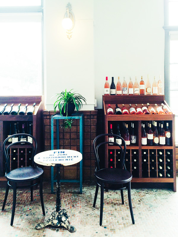 Tofino Wines | Cafe-style chairs | Photography by Carla Gabriel Garcia